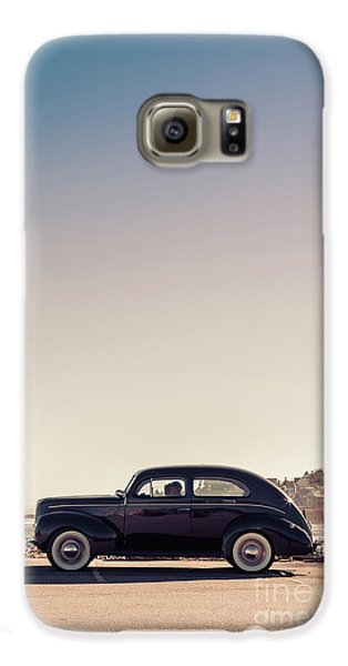 Sunday Drive To The Beach Galaxy S6 Case by Edward Fielding