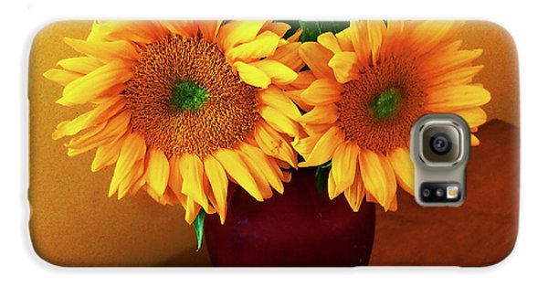 Sunflower Corner Galaxy S6 Case