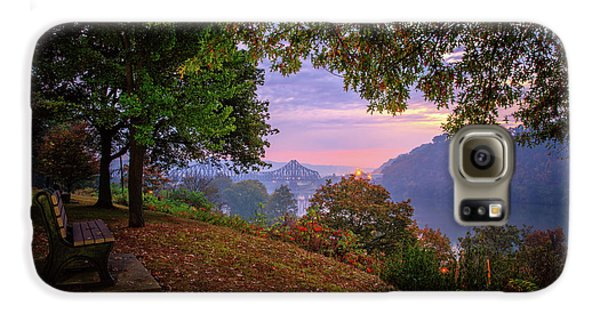Beaver Galaxy S6 Case - Sunrise At River Rd  by Emmanuel Panagiotakis