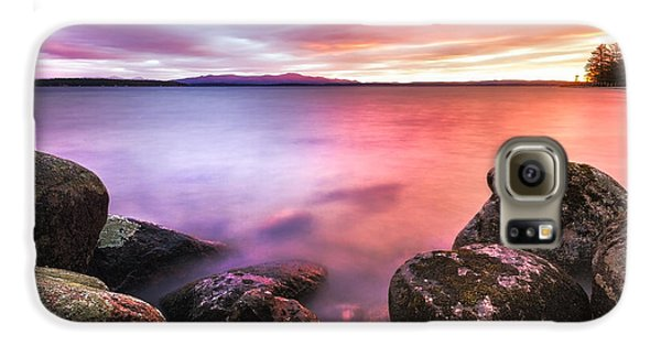 Sunrise On Lake Winnipesaukee Galaxy S6 Case