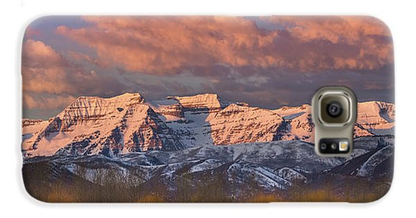 Sunrise On Timpanogos Galaxy S6 Case