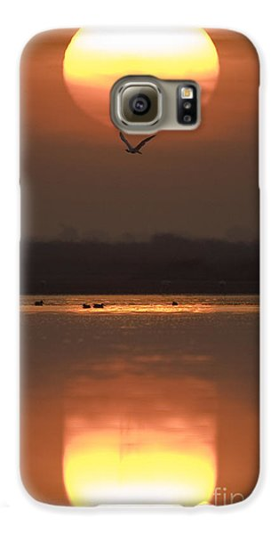 Sunrise Reflection Galaxy S6 Case