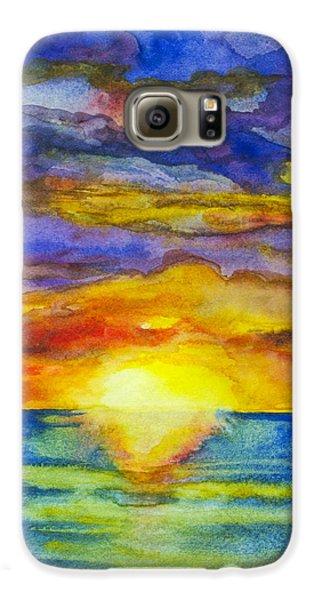 Sunset 1 Galaxy S6 Case
