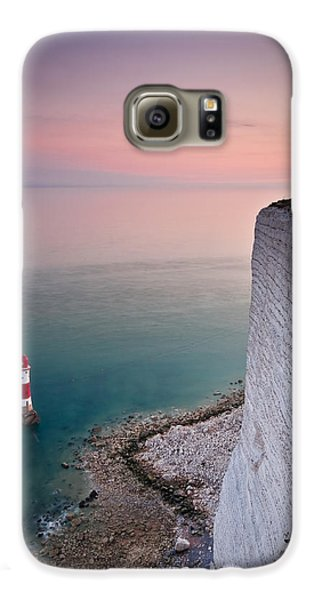 Sunset At Beachy Head Galaxy S6 Case