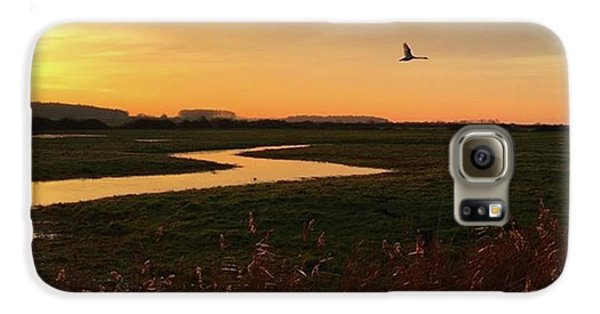 Sunset At Holkham Today  #landscape Galaxy S6 Case