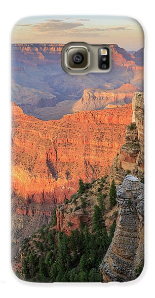 Sunset At Mather Point Galaxy S6 Case by David Chandler