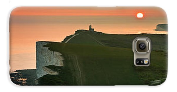 Sunset At The Belle Tout Lighthouse Galaxy S6 Case