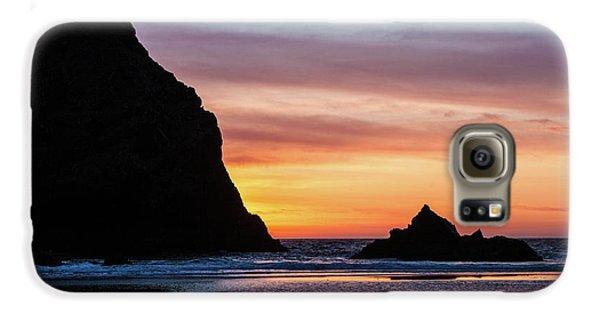 Sunset At Whalehead Beach Galaxy S6 Case