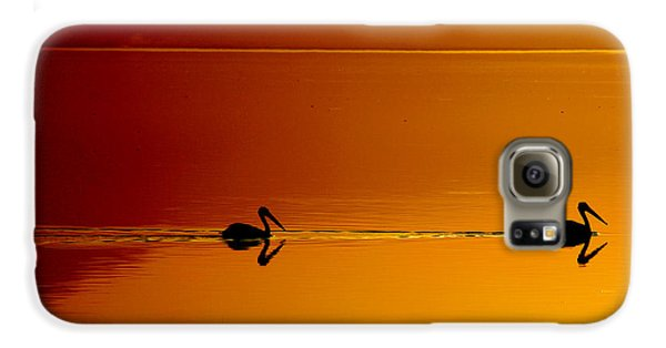 Pelican Galaxy S6 Case - Sunset Cruising by Laurie Search