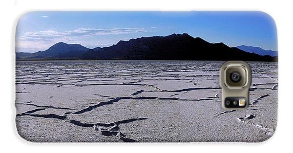 Mountain Sunset Galaxy S6 Case - Sunset Flats by Chad Dutson