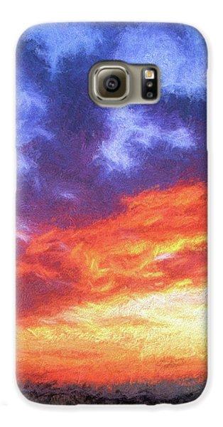Sunset In Carolina Galaxy S6 Case