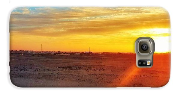 Landscapes Galaxy S6 Case - Sunset In Egypt by Usman Idrees
