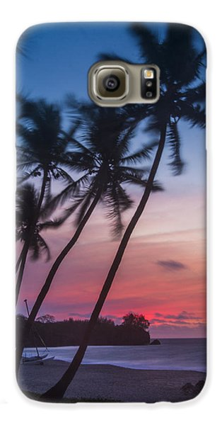 Sunset In Paradise Galaxy S6 Case