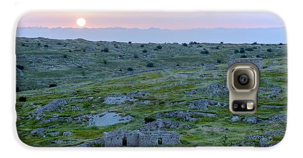 Sunset Over A 2000 Years Old Village Galaxy S6 Case by Dubi Roman