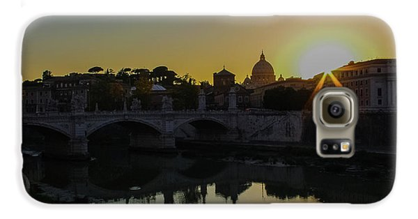Sunset Over St Peters Galaxy S6 Case