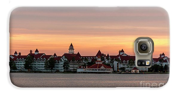 Sunset Over The Grand Floridian Galaxy S6 Case