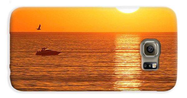 Sunset Solitude Galaxy S6 Case