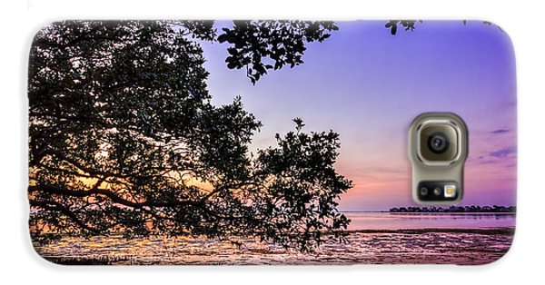 Mangrove Galaxy S6 Case - Sunset Under The Mangroves by Marvin Spates