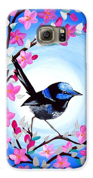 Superb Fairy Wren Galaxy S6 Case by Cathy Jacobs
