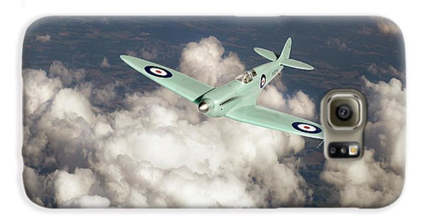 Galaxy S6 Case featuring the photograph Supermarine Spitfire Prototype K5054 by Gary Eason