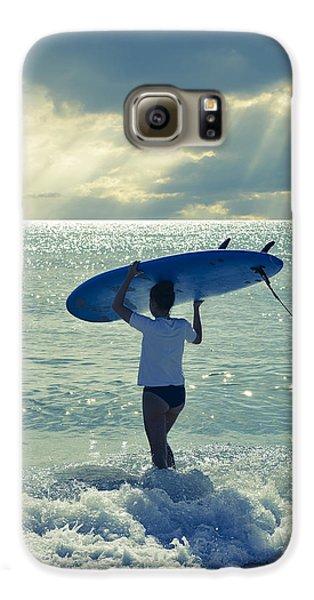Beach Galaxy S6 Case - Surfer Girl by Laura Fasulo