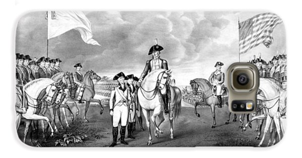 George Washington Galaxy S6 Case - Surrender Of Lord Cornwallis At Yorktown by War Is Hell Store