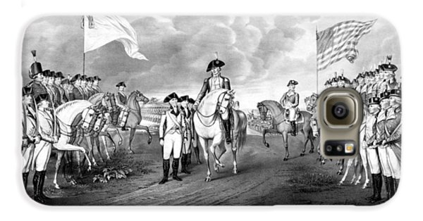 Surrender Of Lord Cornwallis At Yorktown Galaxy S6 Case by War Is Hell Store
