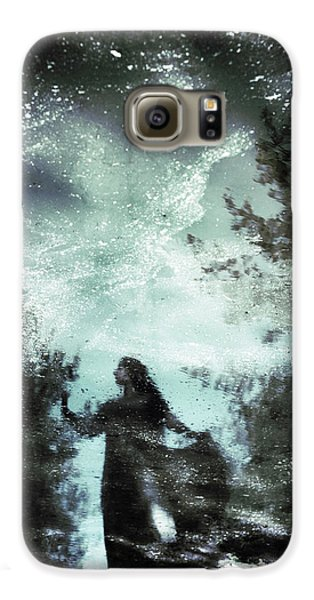 Magician Galaxy S6 Case - Swamp Witch by Cambion Art