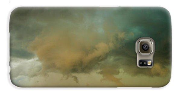 Nebraskasc Galaxy S6 Case - Swirling Nebraska Supercells 001 by NebraskaSC