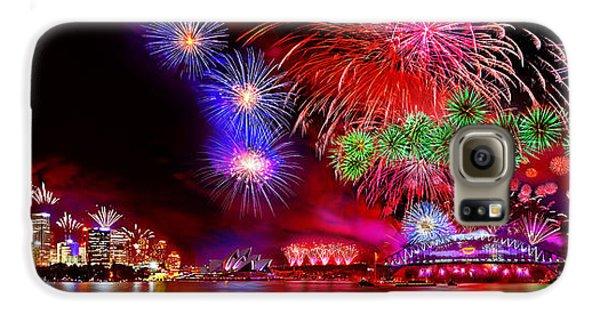 Colours Galaxy S6 Case - Sydney Celebrates by Az Jackson