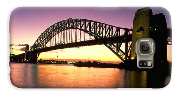 Sydney Harbour Bridge Galaxy S6 Case by Travel Pics