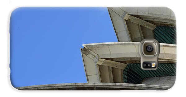 Sydney Opera House Roof Detail No. 14-1 Galaxy S6 Case by Sandy Taylor