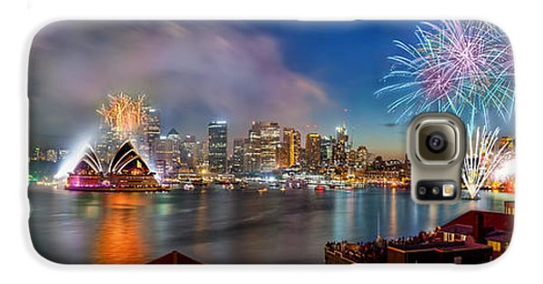 Sydney Sparkles Galaxy S6 Case by Az Jackson