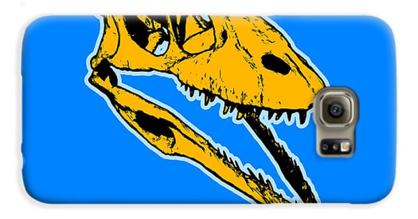 T-rex Graphic Galaxy S6 Case by Pixel  Chimp