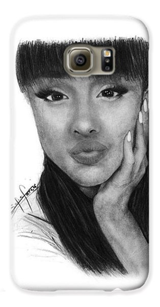 Ariana Grande Drawing By Sofia Furniel Galaxy S6 Case