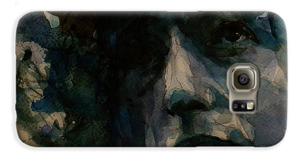 Tagged Up In Blue- Bob Dylan  Galaxy S6 Case