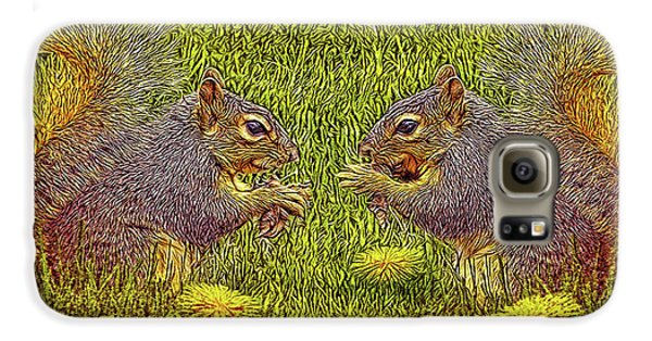 Tale Of Two Squirrels Galaxy S6 Case