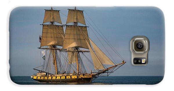 Tall Ship U.s. Brig Niagara Galaxy S6 Case