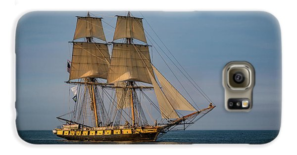 Tall Ship U.s. Brig Niagara Galaxy S6 Case