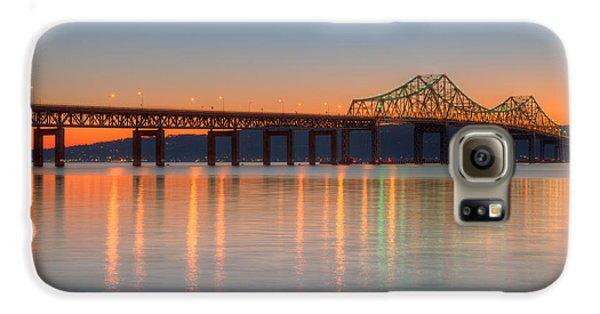 Tappan Zee Bridge After Sunset II Galaxy S6 Case