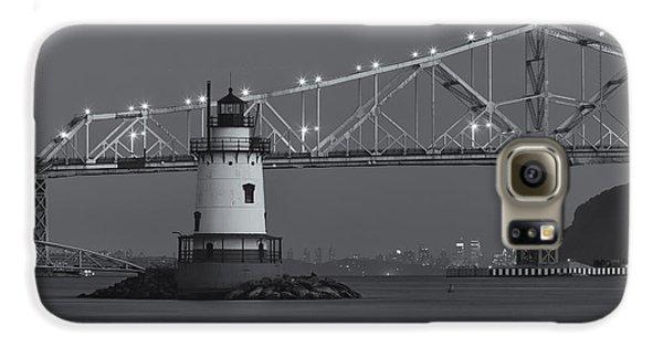 Tarrytown Lighthouse And Tappan Zee Bridge At Twilight II Galaxy S6 Case