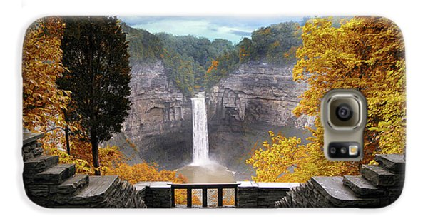 Taughannock In Autumn Galaxy S6 Case