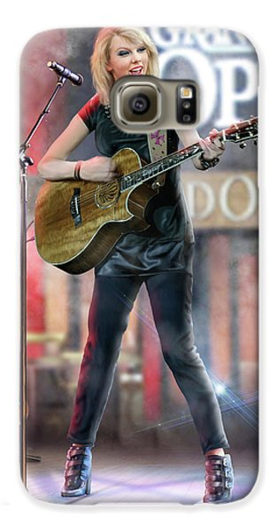 Taylor At The Opry Galaxy S6 Case by Don Olea