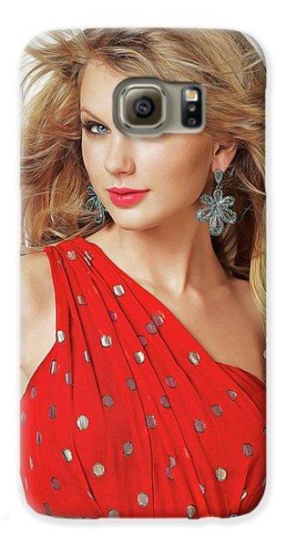 Taylor Swift Galaxy S6 Case by Twinkle Mehta