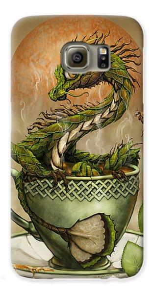 Dragon Galaxy S6 Case - Tea Dragon by Stanley Morrison