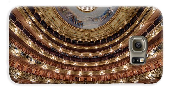 Teatro Colon Performers View Galaxy S6 Case
