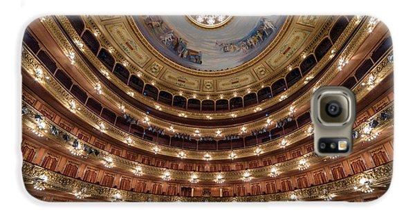 Teatro Colon Performers View Galaxy S6 Case