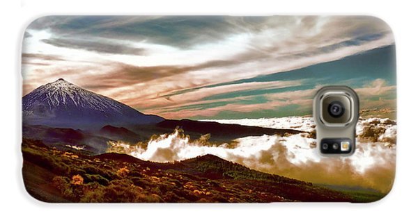 Teide Volcano - Rolling Sea Of Clouds At Sunset Galaxy S6 Case