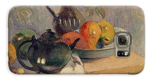 Teiera Brocca E Frutta Galaxy S6 Case by Paul Gauguin