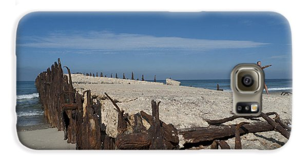 Galaxy S6 Case featuring the photograph Tel Aviv Old Port 2 by Dubi Roman